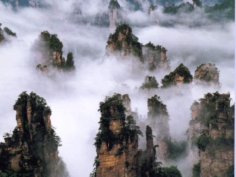Zhangjiajie National Forest Park, Weather in Zhangjiajie