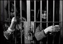 Mujeres en estado de cárcel
