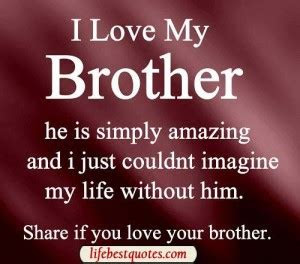 Lost Your Brother Quotes