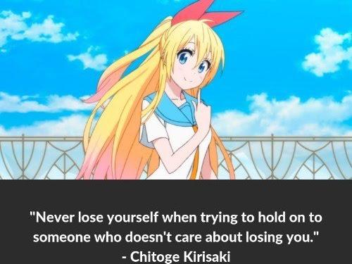 Anime Quotes Nisekoi