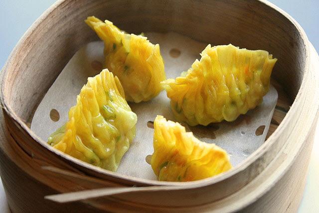 Steamed Shark's Fin & Chicken Dumpling