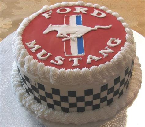 17 Best ideas about Mustang Cake on Pinterest   Car cakes
