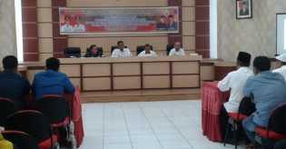 Bupati Rohil Buka Kegiatan Rapat Evaluasi Pendamping P3MD
