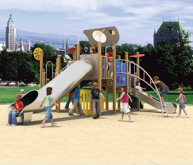 Kids Outdoor Playground Equipments