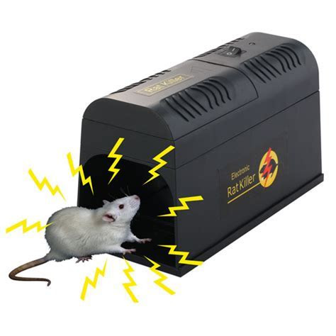 ELECTRONIC MOUSE RAT RODENT KILLER ELECTRIC ZAPPER TRAP POISON FREE PEST CONTROL   eBay