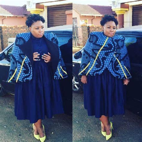 Really elegant Shweshwe African Modern Styles for 2018