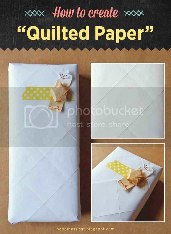 "Paper Folding Tutorial: Get the ""Quilted Paper"" Look"