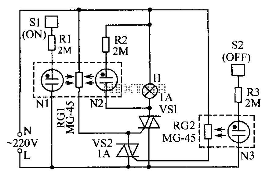 32 Touch Lamp Sensor Wiring Diagram