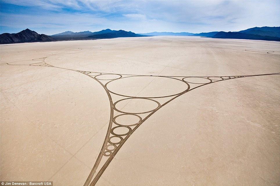 Black Rock Desert artwork