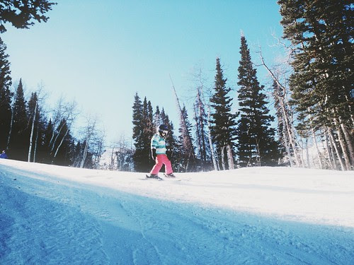 ski day // the little red house