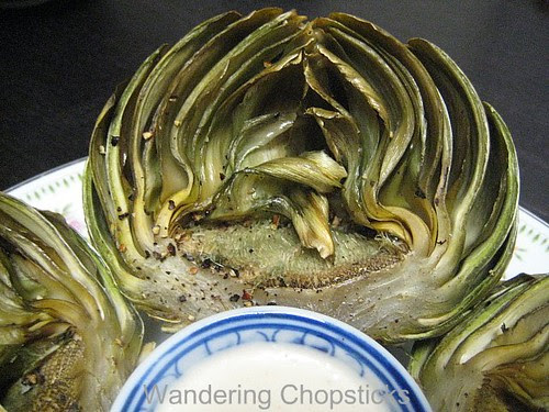 Roasted Garlic with Chili Aioli 4