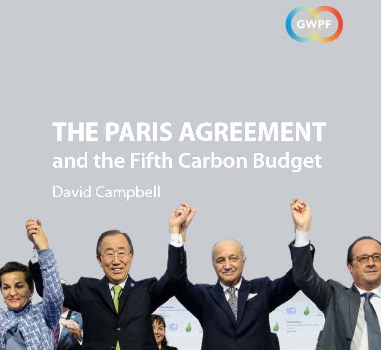 Image result for GWPF Paris deal