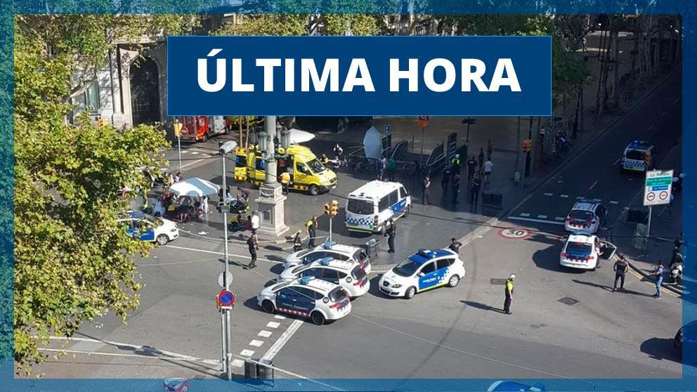 Atentado Barcelona: Última hora del ataque terrorista en las Ramblas