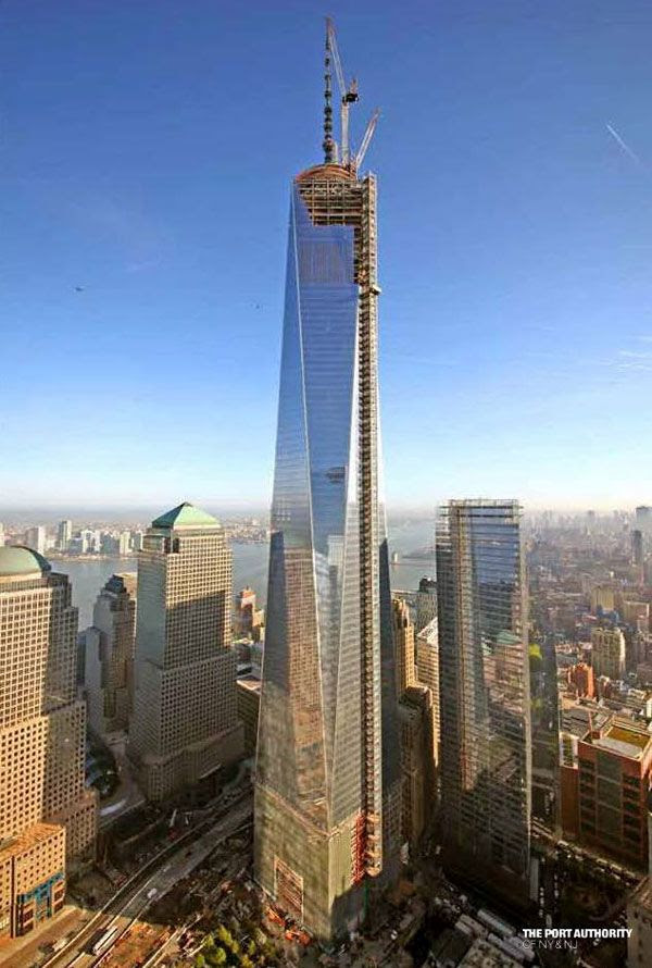 The 1 World Trade Center as seen on May 20, 2013.