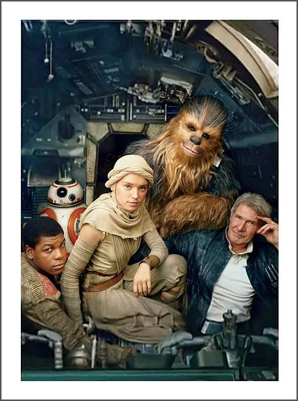 Star Wars Vanity Fair Cover Edit