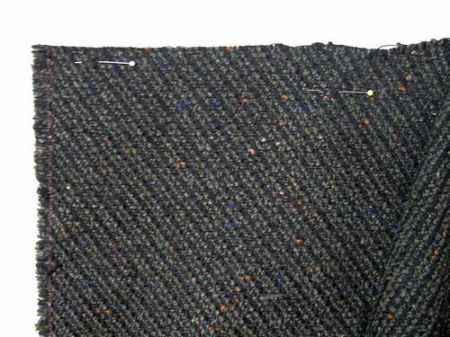 Olive sleeve fabric