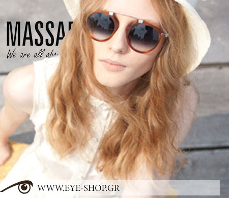 Massada New sunglasses vintage collection