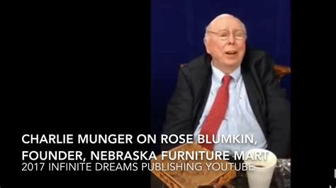 charlie munger interview     rose blumkin
