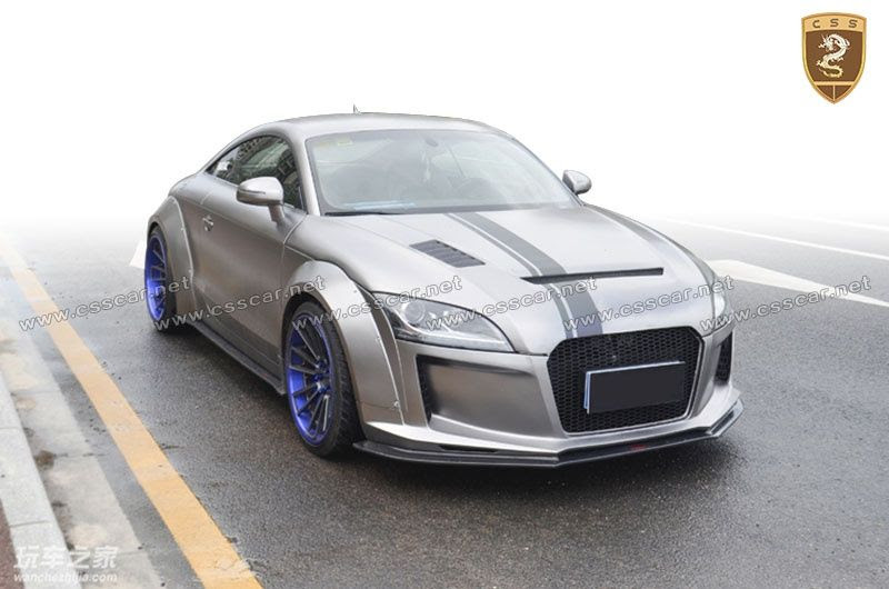 2008 Audi Tt Wide Body Kit