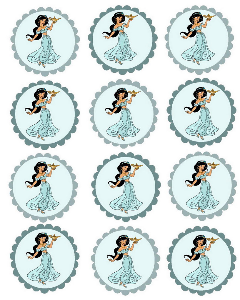 alladine cupcake toppers2