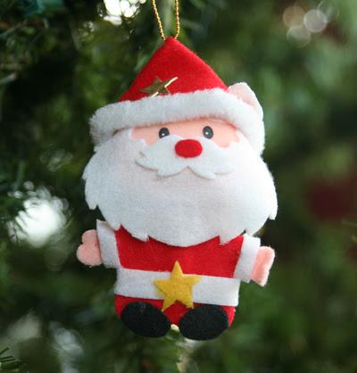 Little felt Santa