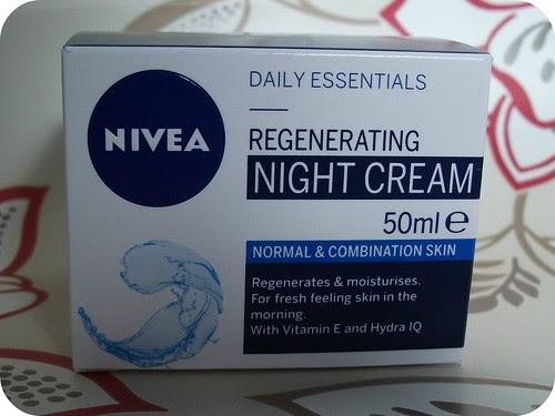 nivea regenerating night cream review