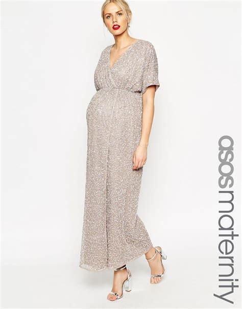 8 months pregnant wedding wear / ASOS Maternity Kimono