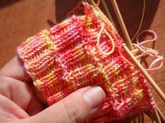 TTL Mystery sock Clue #1
