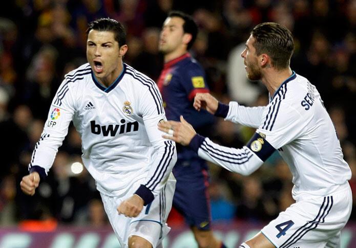 Meneo del Madrid al Barça