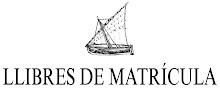 WEB DE L'EDITORIAL          LLIBRES DE MATRÍCULA