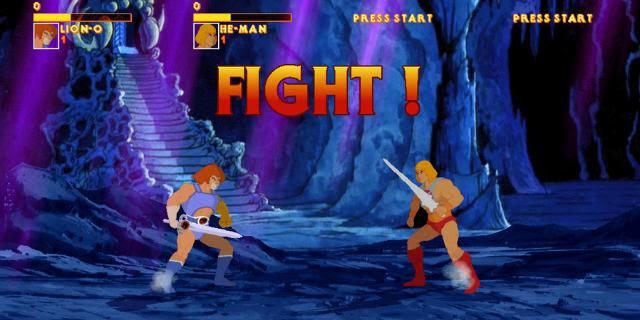 Lion-O vs He-Man - Mundo Nerd