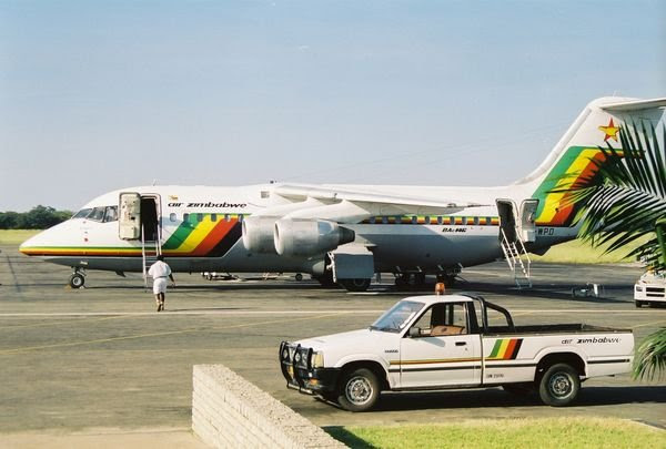 An Air Zimbabwe BAe146