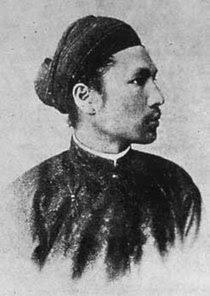 Chân dung thông dụng của Hoàng đế Hàm Nghi.