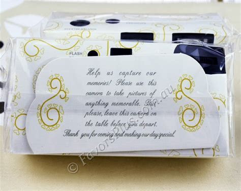 Discount Gold Lace Wedding Disposable Cameras   Disposable