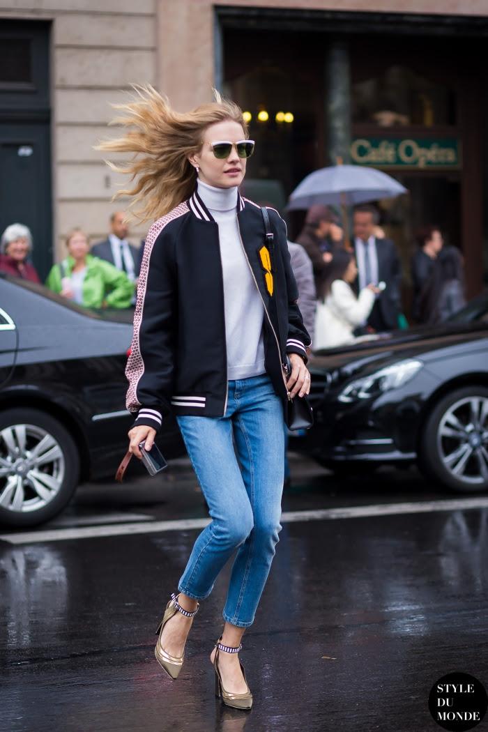 Natalia Vodianova Street Style Street Fashion Streetsnaps by STYLEDUMONDE Street Style Fashion Blog