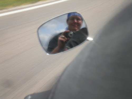 What I look like at 70 mph