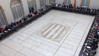 El Pacte Nacional pel Referèndum, aquest dimarts a la tarda reunit al Parlament