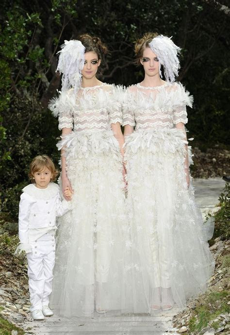 Wedding Dress Inspiration from Chanel Spring Couture 2013