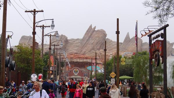 Disneyland Resort, Disney California Adventure, Cars Land, Christmas Time, Christmas