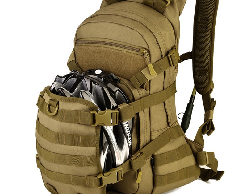 25L Military Tactical Army Rucksacks Molle Backpack Camping Hiking Bag Trekking