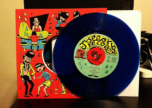 "Toys That Kill - Jukebox Records 7"" (/300) by Tim PopKid"