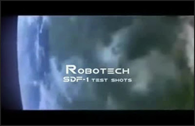 Robotech SDF-1 Test Shots