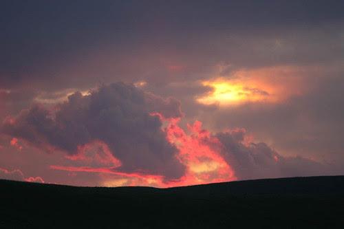 Amazing Sunset - red