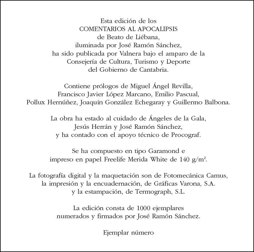 José Ramón Sánchez, COMENTARIOS AL APOCALÍPSIS 3.jpg