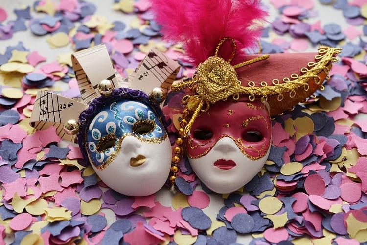 Pixabay Máscaras Carnavalescas