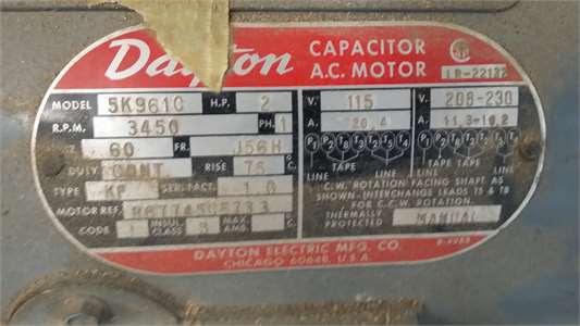 31 Dayton Electric Motors Wiring Diagram