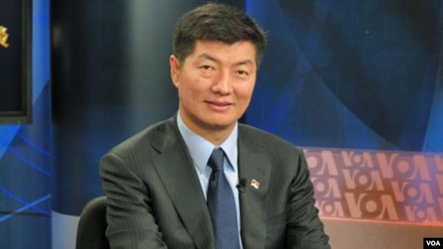 西藏流亡政府的藏人行政中央司政洛桑森格 (资料照片)