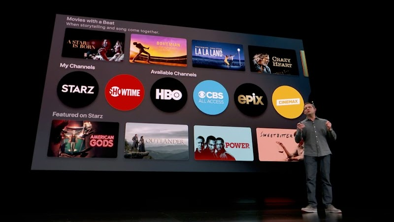 """Apple jumps into subscription video fray with """"TV Channels"""""""