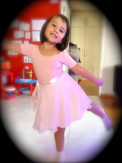 Jolie looks like a dream dancer with that flowy wrap-around skirt