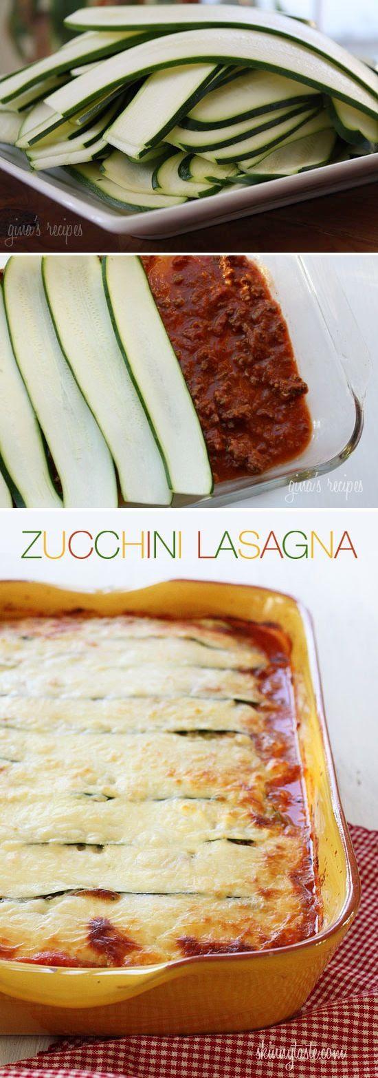 Gluten Free & Low Carb Zucchini Lasagna